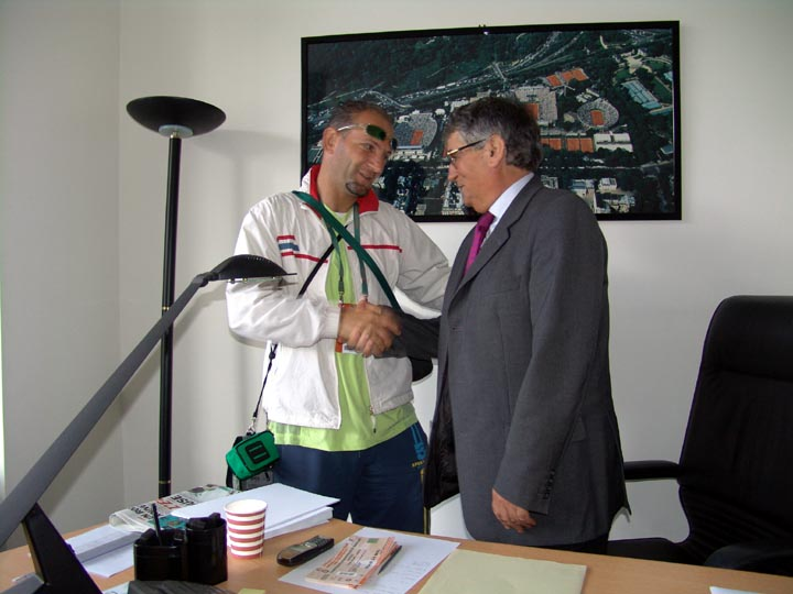 Roland Garros 2005 Naim Shehu dhe Arben Islami