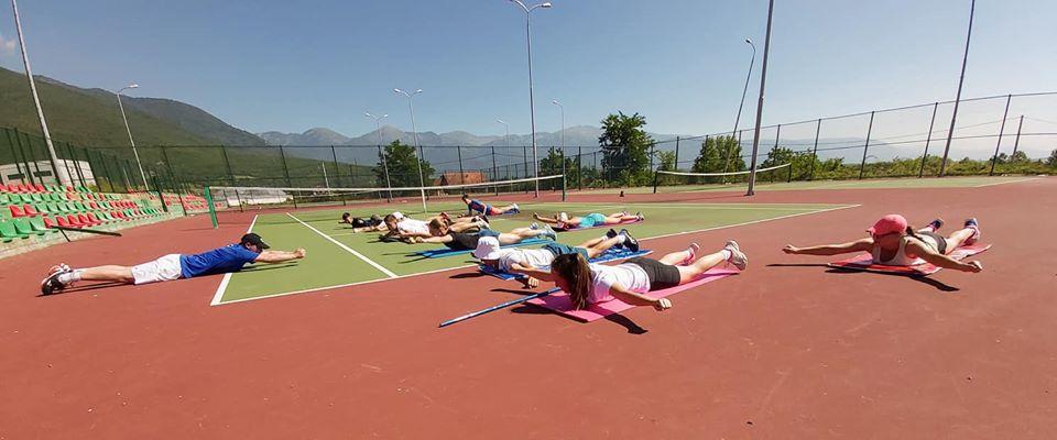 Dita e dytë e kampit për grupmoshën U16, në Brestovik- Pejë.